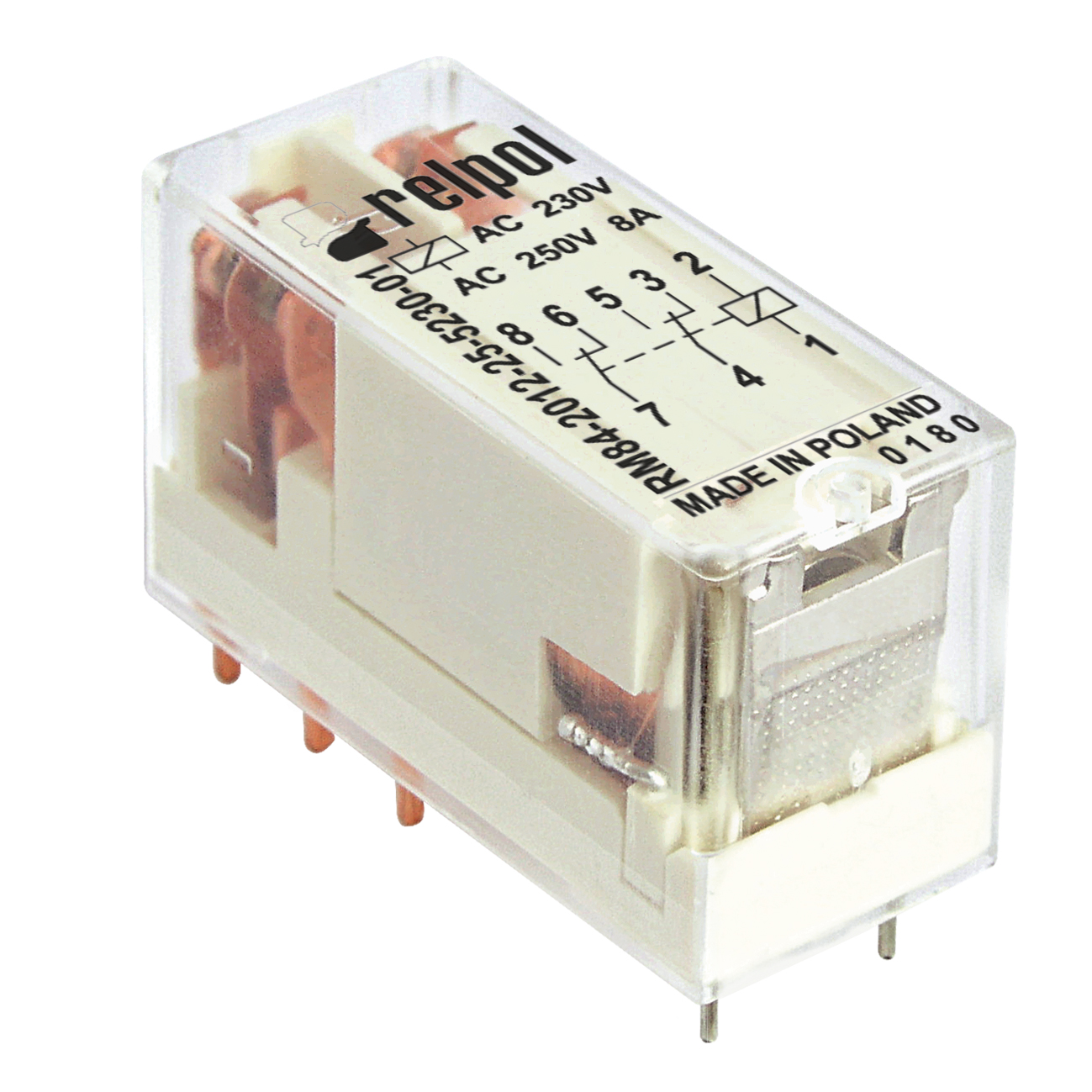 Relay Rm84miniature Pcb Power Relays Relpol Sa Ac Switch Rm84