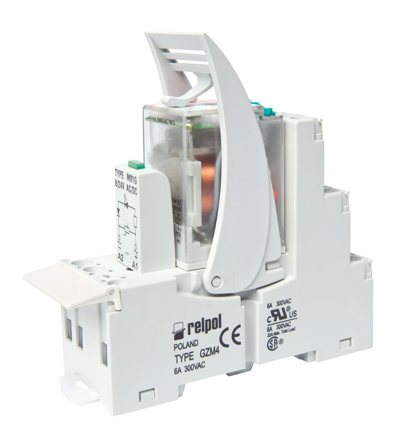 Relay R4n Industrial Relays Relpol Sa Electrical Life