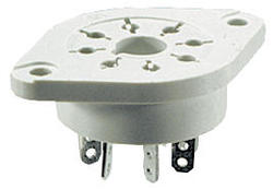 Socket GOP8 - solder terminals, Sockets and accessories for R15