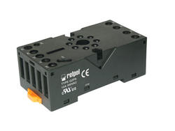 Socket GZP8 - screw terminals, Sockets and accessories for R15