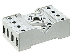 Socket PZ8 - screw terminals, Sockets and accessories for R15