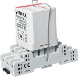 PRUCT-M with socket GUC11S - railroad interface relays, interface relays