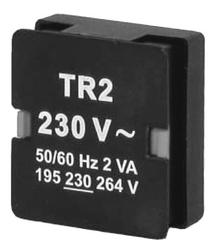 Transformers for monitoring relays, Monitoring relays in industrial enclosure