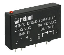 RSR20 , Solid State Relays PCB mounting