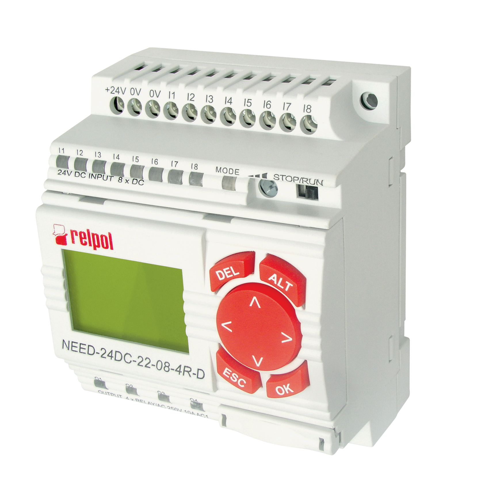 Need 8 Inputs 4 Outputs With Lcd Displayprogrammable Relay English Electric Manuals Display Programmable