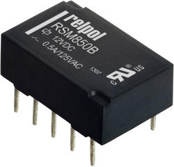 Relay RSM850B, electromagnetic subminiature relays